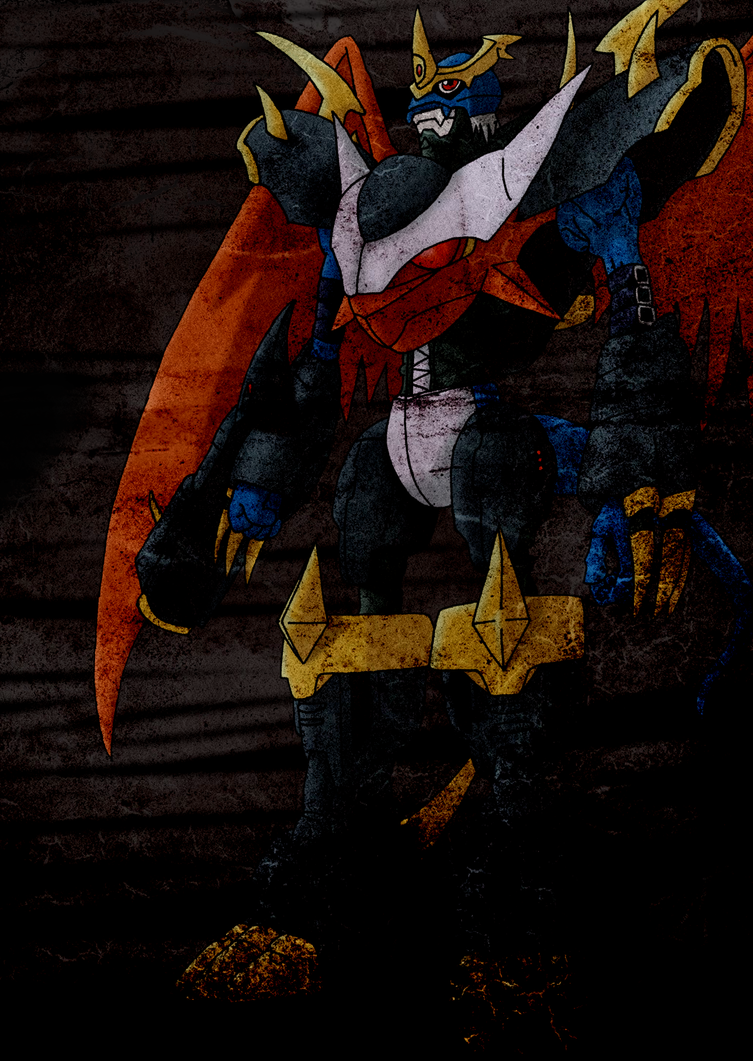 Imperialdramon - Fighter Mode (dark) by Siques on DeviantArt