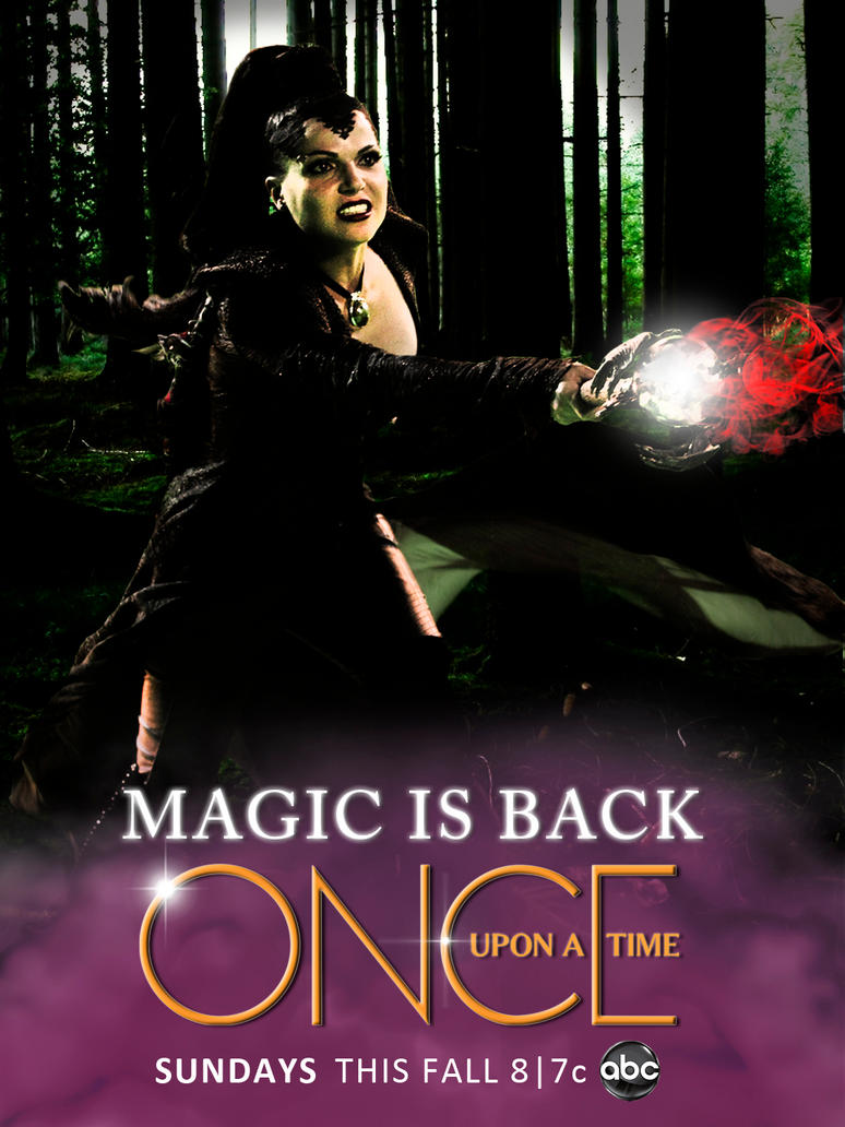 Once Upon A Time Season 2 Poster Fan Made By Pliok14