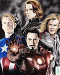 the avengers finished !!