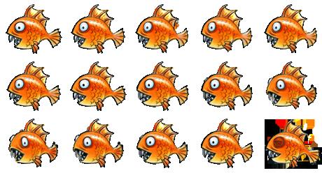 Fish. Fat and Orange