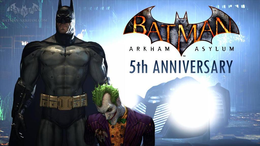 Batman: Arkham Asylum's 5th Anniversary! by GrandNightConvoymare