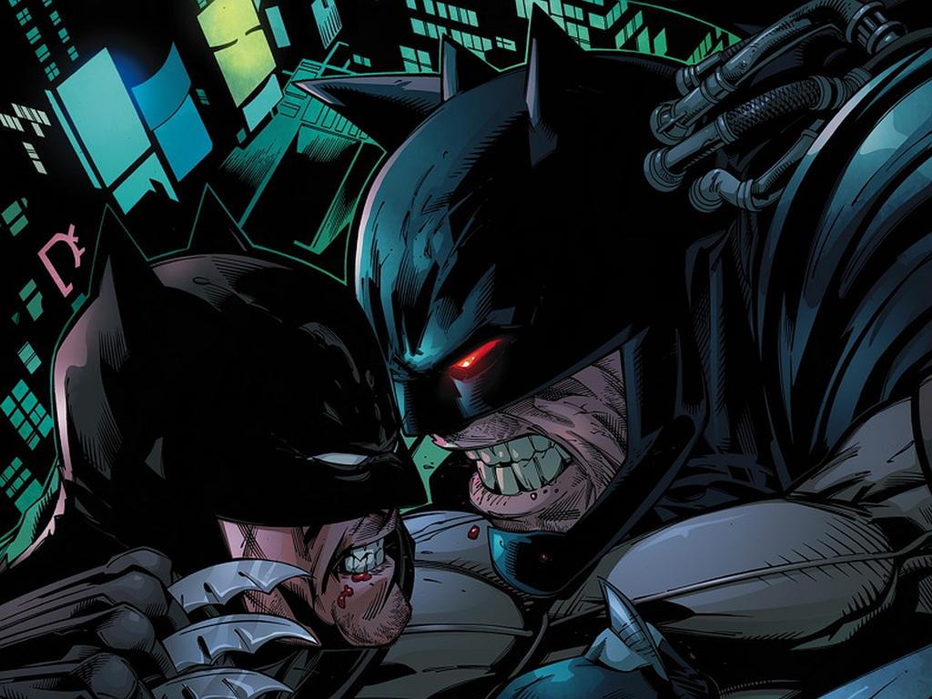 Batman vs Batbane by GrandNightConvoymare