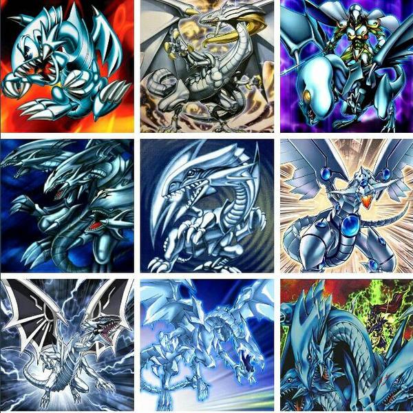 Yugioh White Dragons  by GrandNightConvoymare