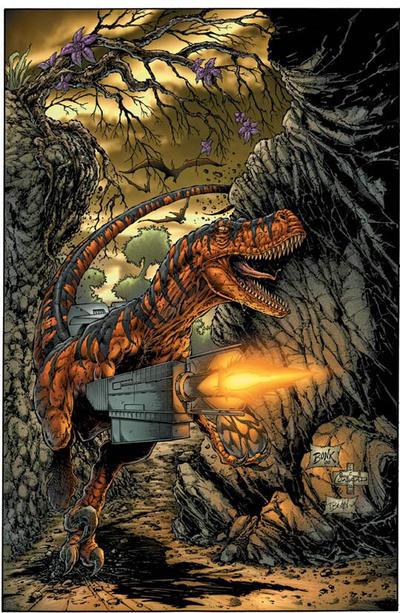 Nanosaur Countdown to extinction cover  by GrandNightConvoymare