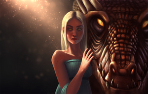 Mother Of Dragons by amuri-e