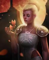 golden princess by amuri-e
