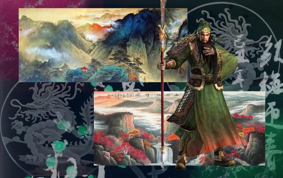 Guan Yu Wallpaper by Liojen on DeviantArt