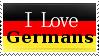 I Love Germans