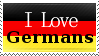 I Love Germans by Rizey
