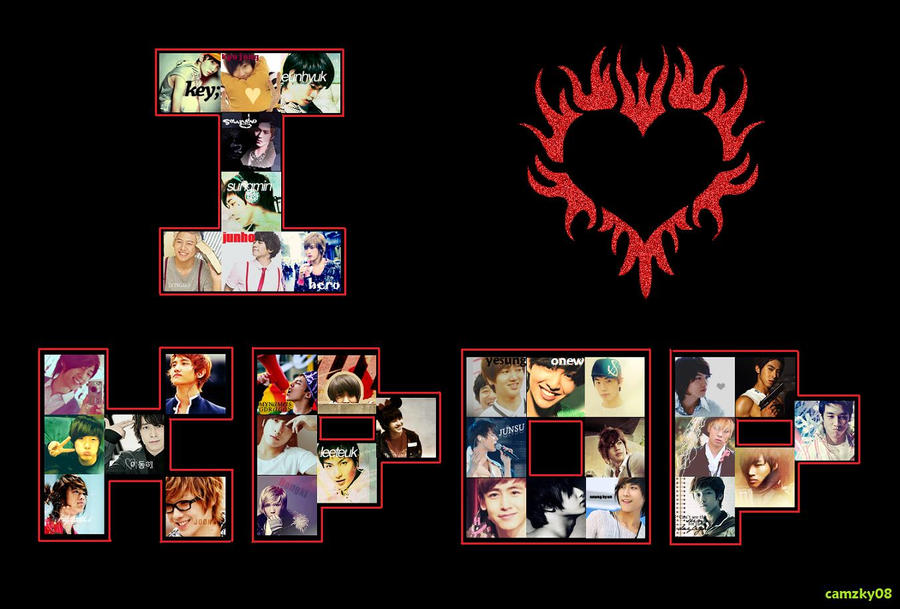 i love kpop wallpaper by cassiopeia91 on DeviantArt