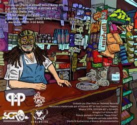 Aqui Hay Ponx Contraportada del EP de Piter Ponx