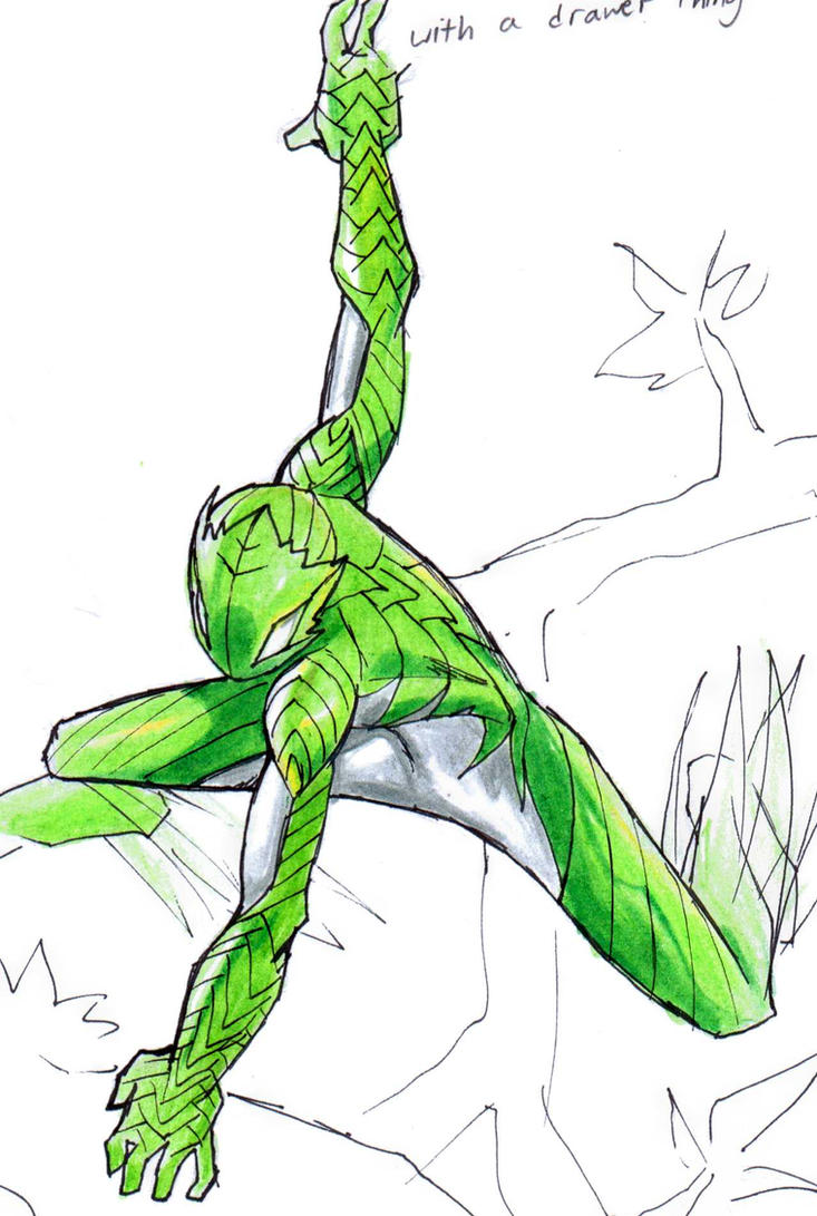 Grassman by Sktchman