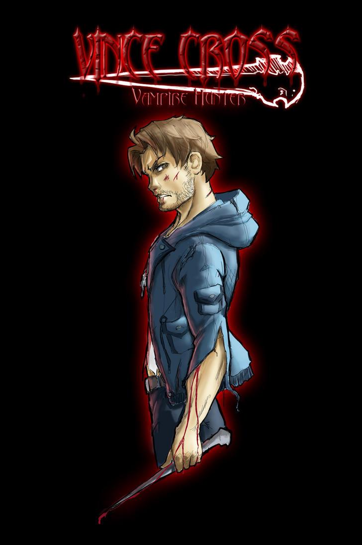 Vince Cross, Vampire Hunter by Sktchman