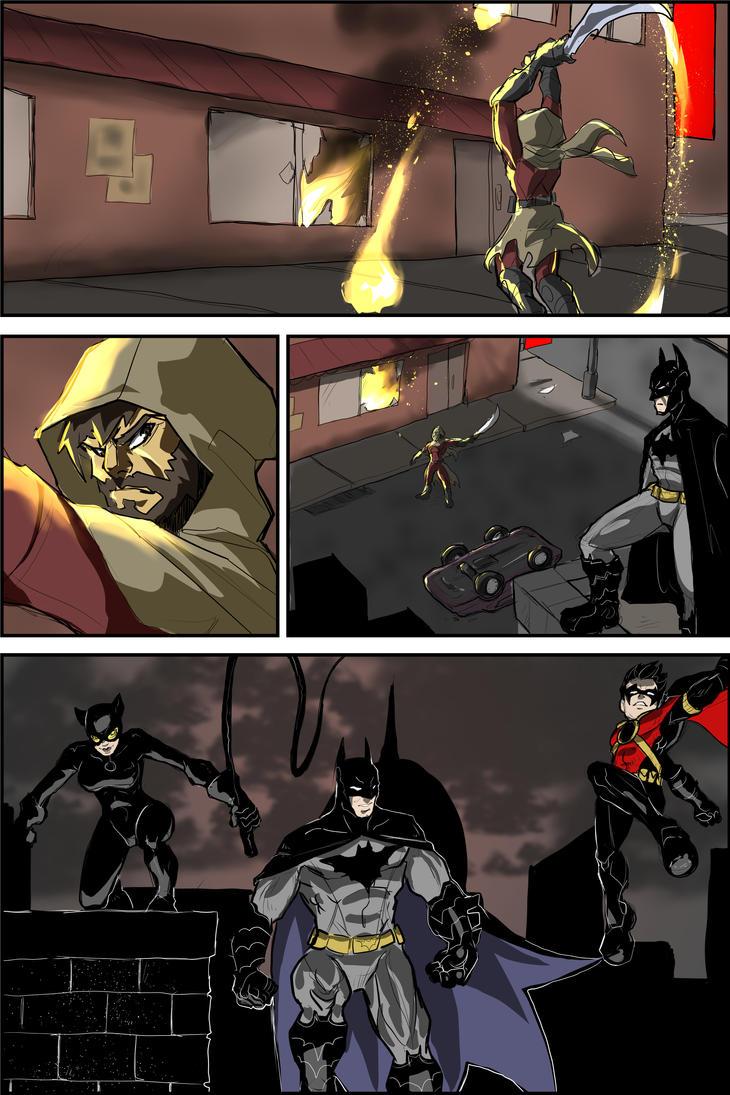 Batman Page 5 by Sktchman