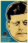 JFK CIA Print