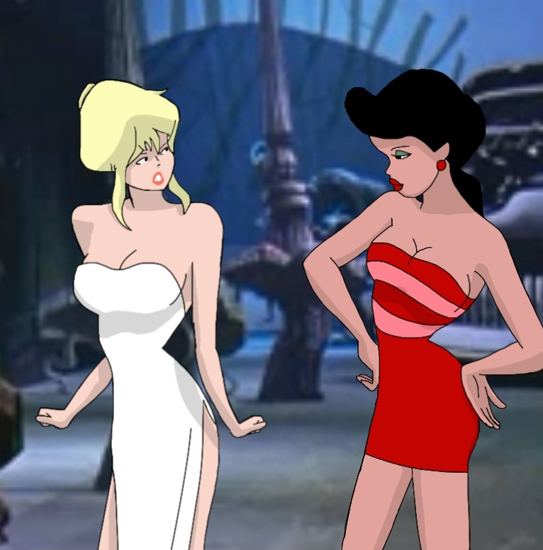 Cool World Holli And Lonette By That1andonly On Deviantart