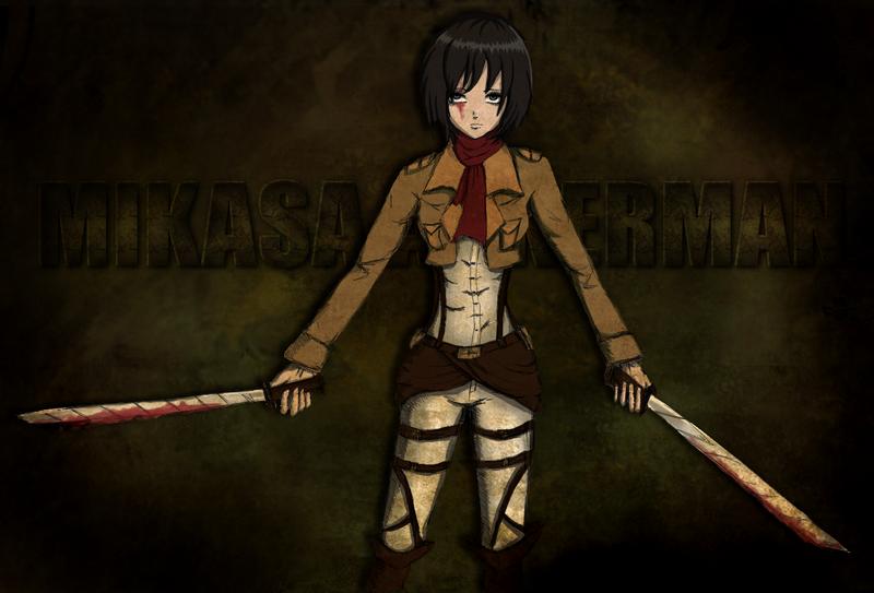 Mikasa Ackerman - Shingeki no Kyojin by AvleenVarAnahid