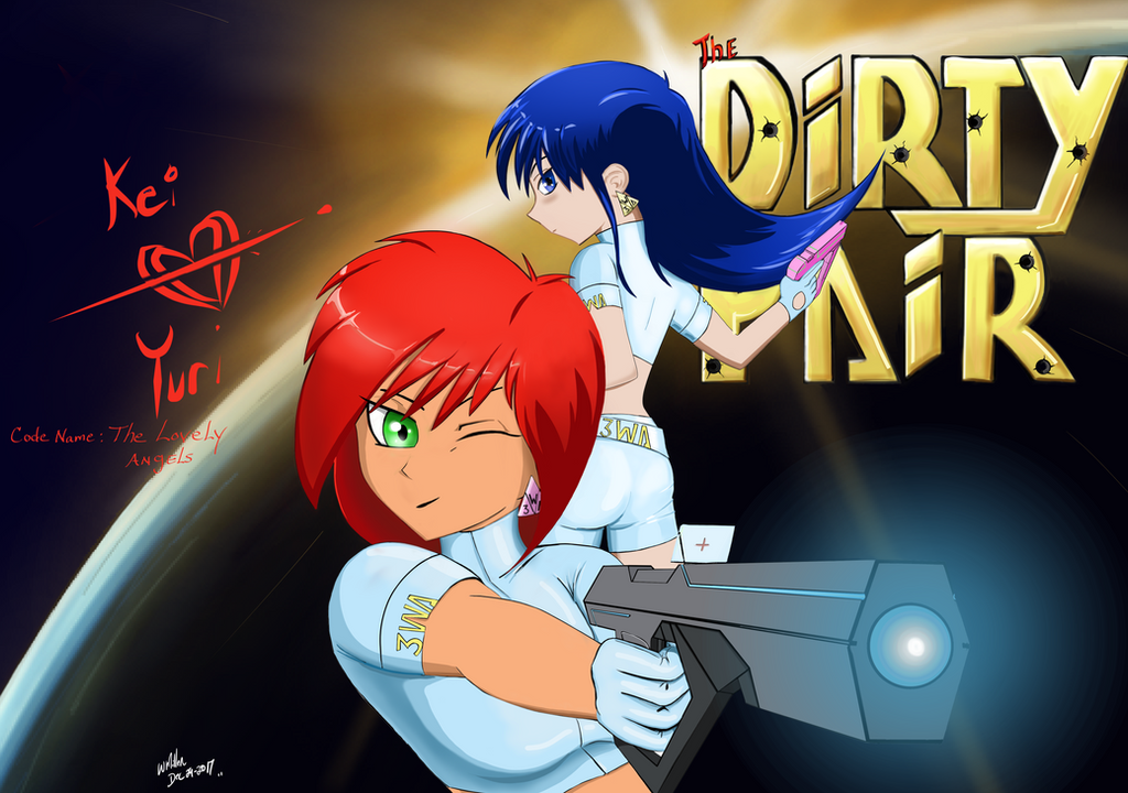 Kei and Yuri, The Dirty Pair by Goodguy67