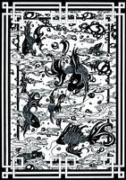 Mystic Aquarium (Inked Art) by Janusart