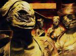 Dark Nurse - Silent Hill - Drawing