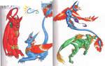 Old Old Old Dragons Sketch by LeoDragonsWorks