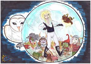 Labyrinth - David Bowie tribute by LeoDragonsWorks