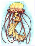 Janny the Jallyfish - Mermay by LeoDragonsWorks