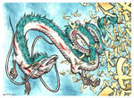 Haku the dragon - spirited away