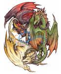 Mother of Dragons - GOT by LeoDragonsWorks