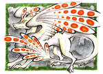 ACEO Trade - Hazer Dragon