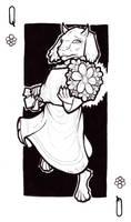 INKtober 25 Queen of Flowers