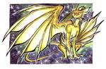 ACEO - Adopt a stars Dragon