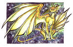 ACEO - Adopt a stars Dragon