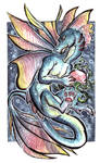 ACEO - Adopt a pearl Dragon