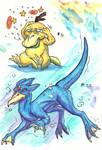 Psyduck Evolution - 1st gen