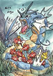 some fish- 1st gen by LeoDragonsWorks