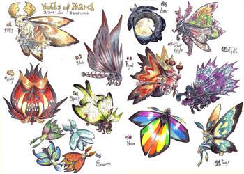 Moths Os March - 1 by LeoDragonsWorks