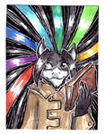 ACEO for Diaminerre by LeoDragonsWorks