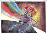 Phoenix Dragon Planswalker by LeoDragonsWorks