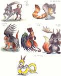Seven Chimeras by LeoDragonsWorks