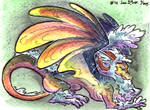 Cloud Dragon - ADOPTABLE by LeoDragonsWorks