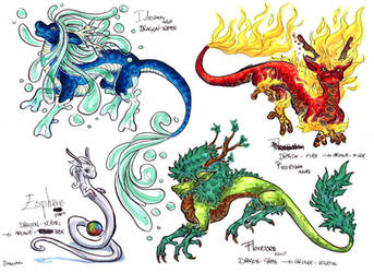 Esphere special dragon by LeoDragonsWorks