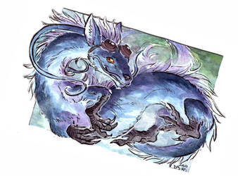 ACEO for Eloren Art by LeoDragonsWorks