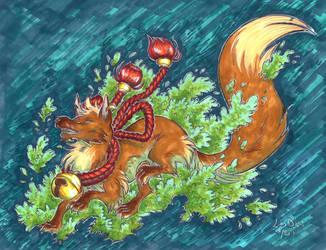 Leaf Kitsune