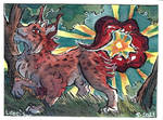 Summer is coming - ACEO by LeoDragonsWorks