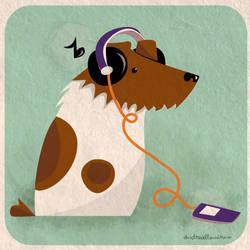rock n' dog by DeeAlt