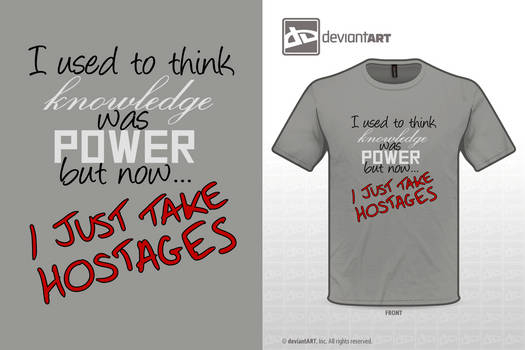 Just Take Hostages by Boxmang