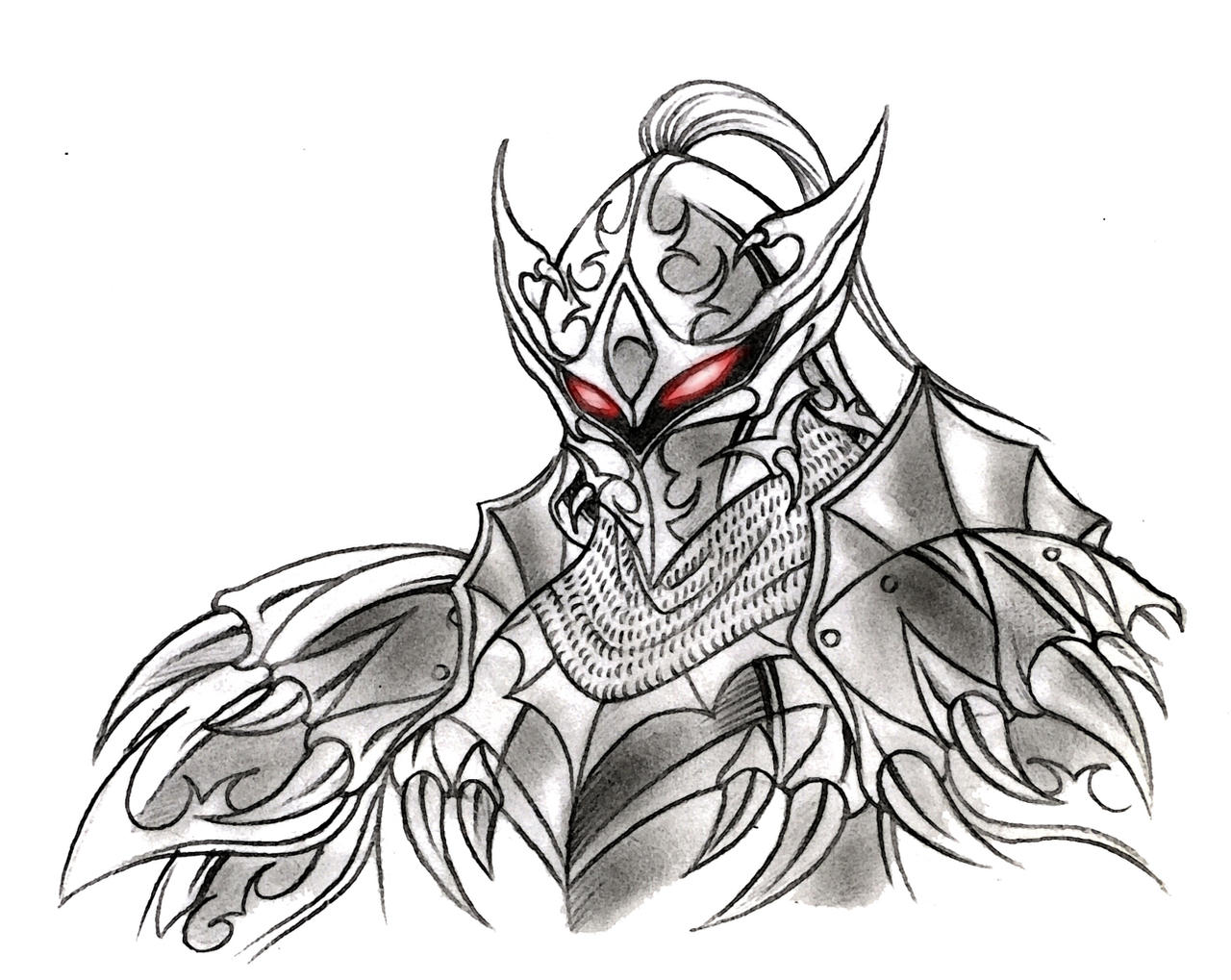 the white demon knight - photo #14