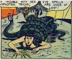 Snake coiling snake chamber youthful Romances #7