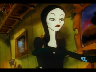 Morticia Wrapped in vines